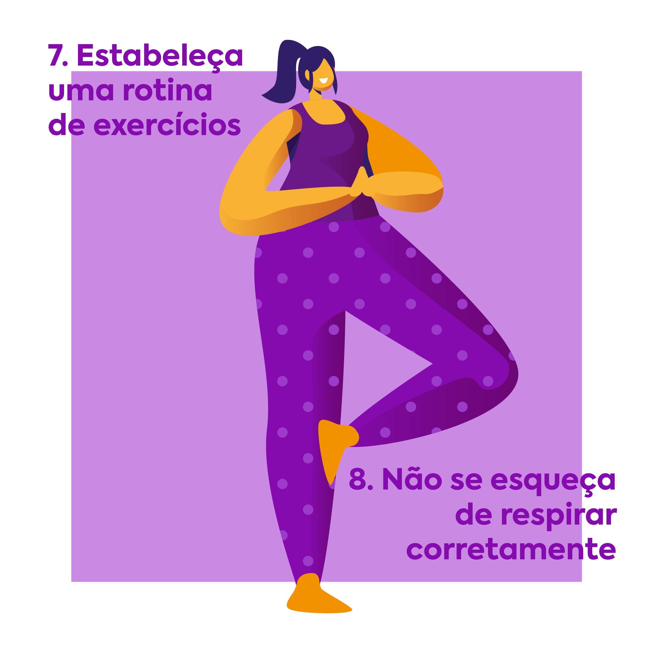 dicas para fazer exercícios em casa