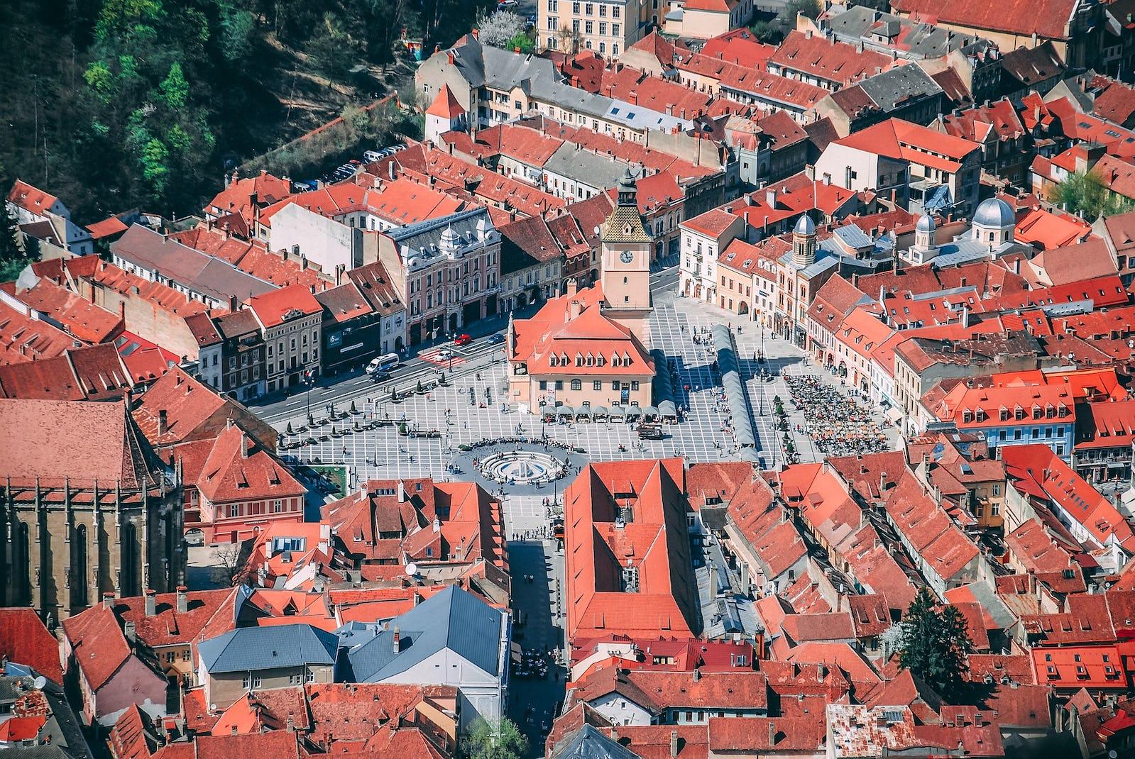 Stadtmitte Kronstadt