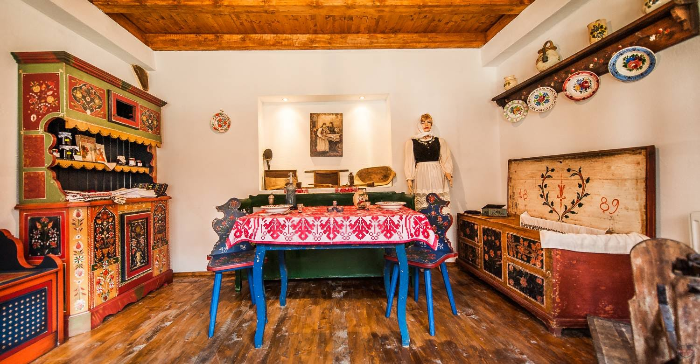 Traditionelles Küche aus Transsilvanien