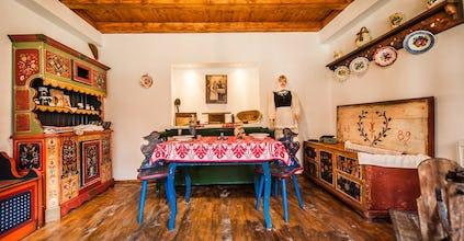 Traditional kitchen in Transylvania