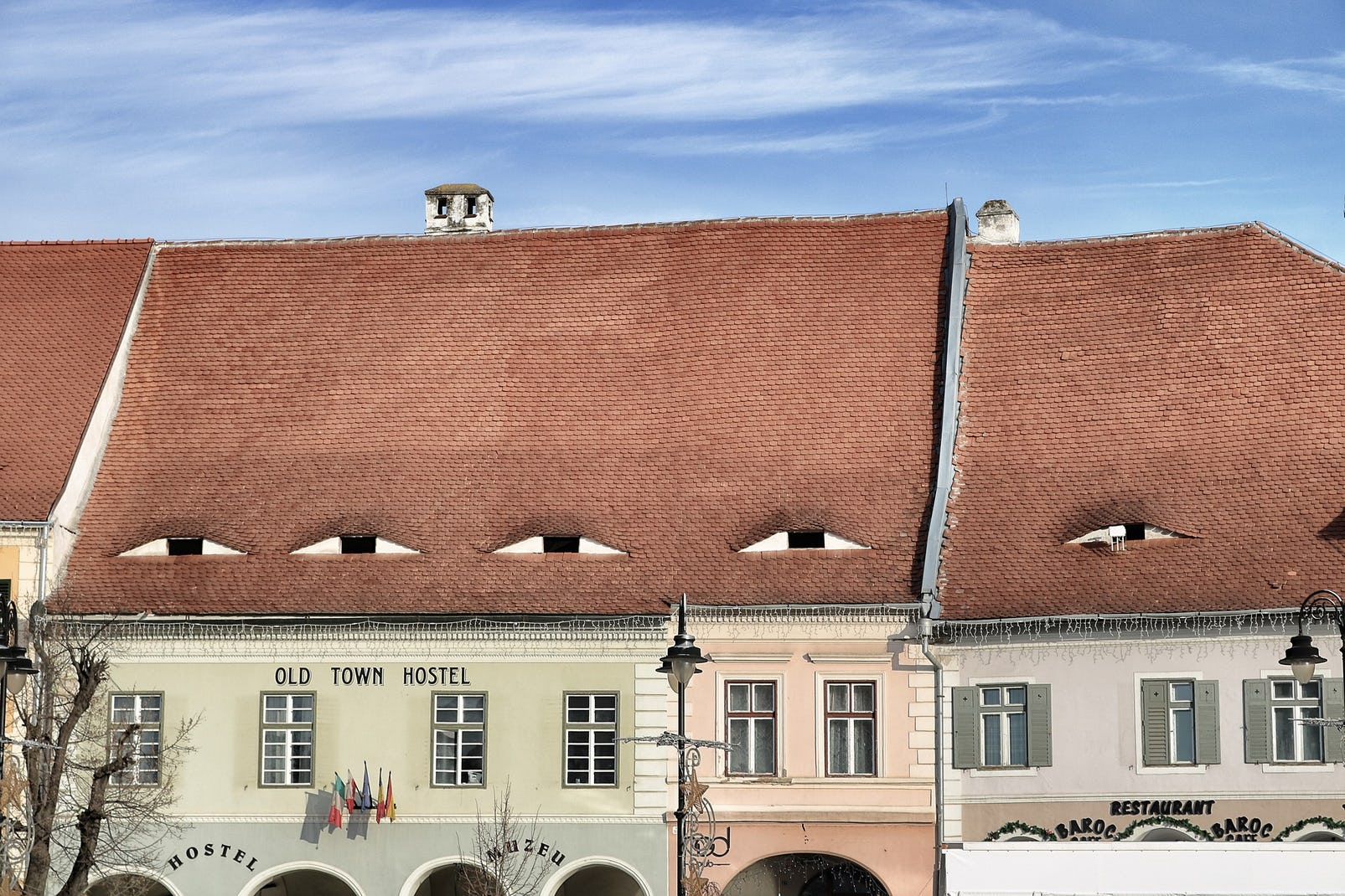 Hause with specific architecture from Sibiu