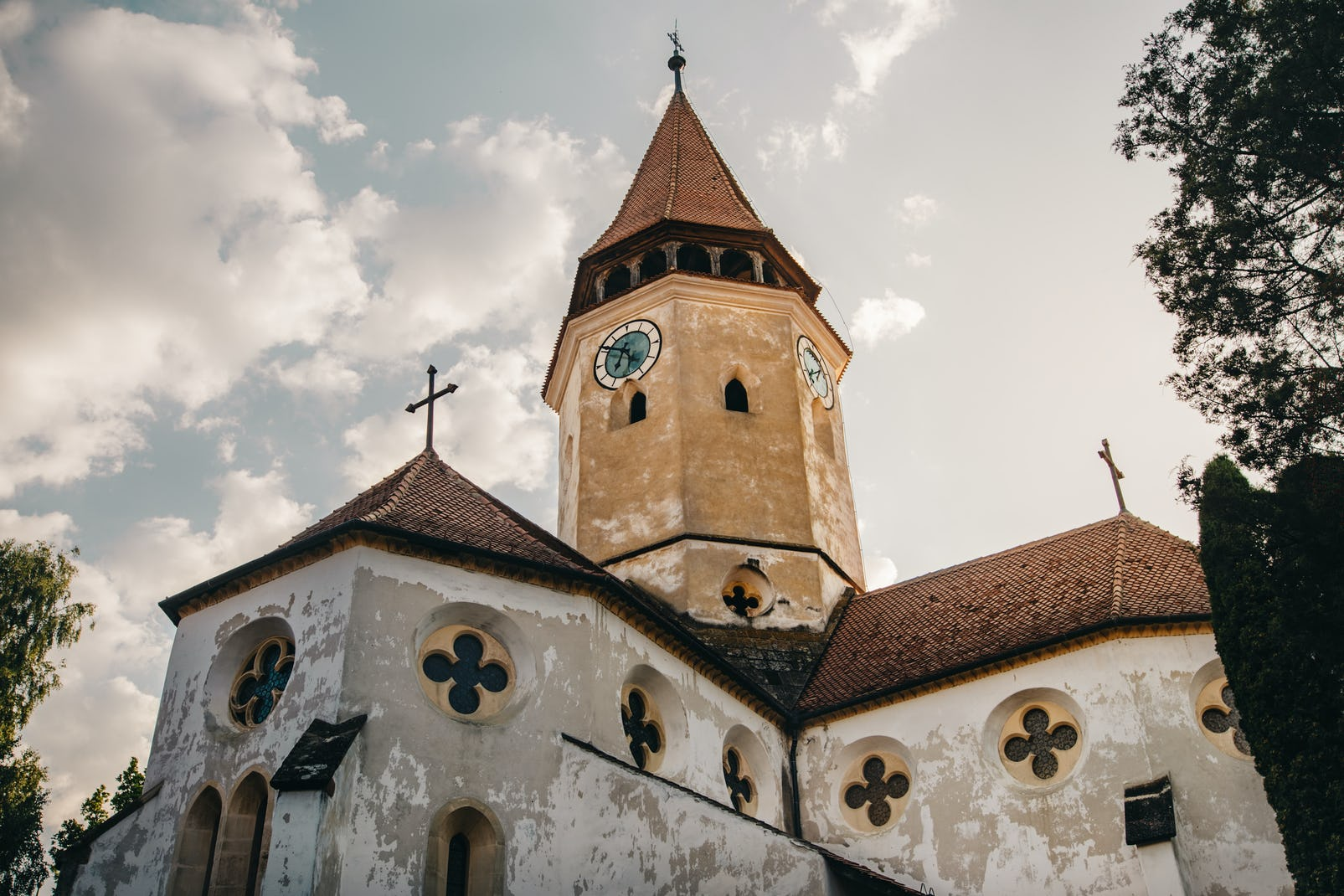 Old fortified church from Transylvania