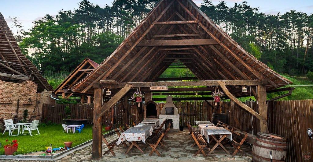 Essplatz für traditionelles Mittagsessen