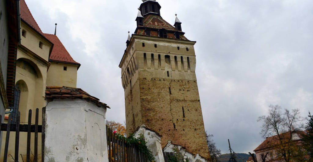 Altes Wehrturm im Schäßburg