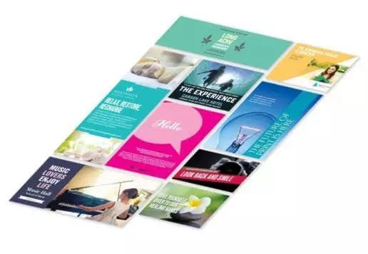 Supermarket Brochure Template Designs
