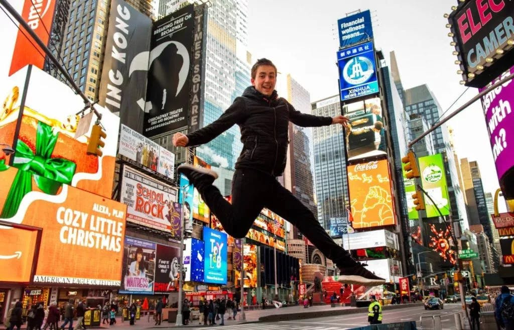 How my NYC dancer image became an award-winner