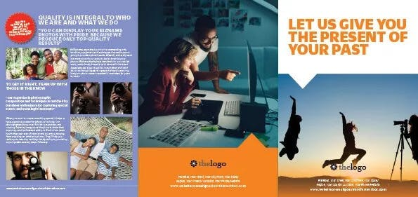 Photography Brochure to Capture Attention