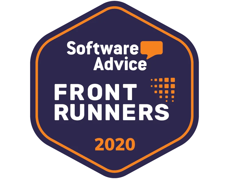 Software Advice FrontRunners for Brand Management Mar-20