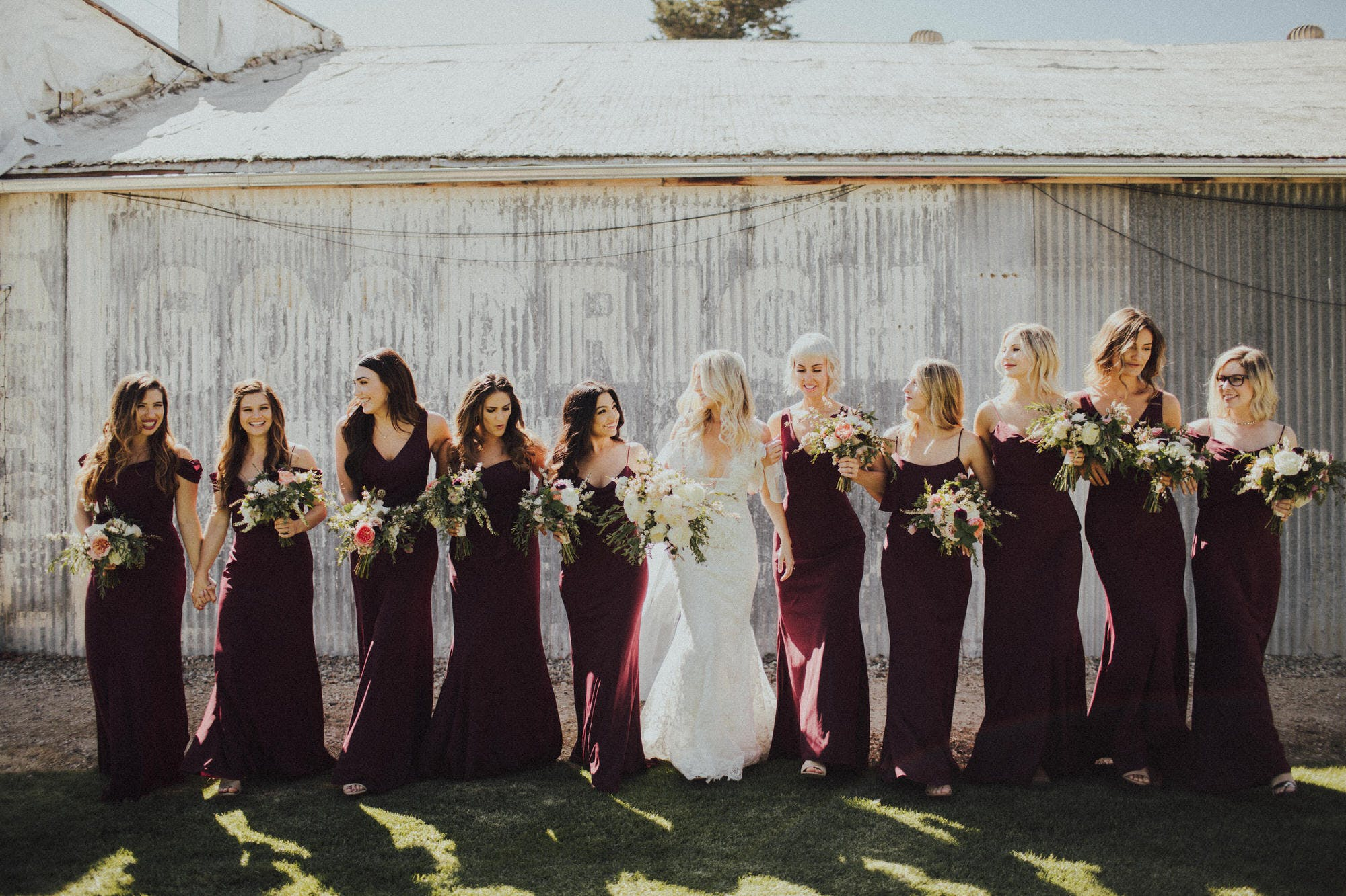 candid bridesmaids pictures