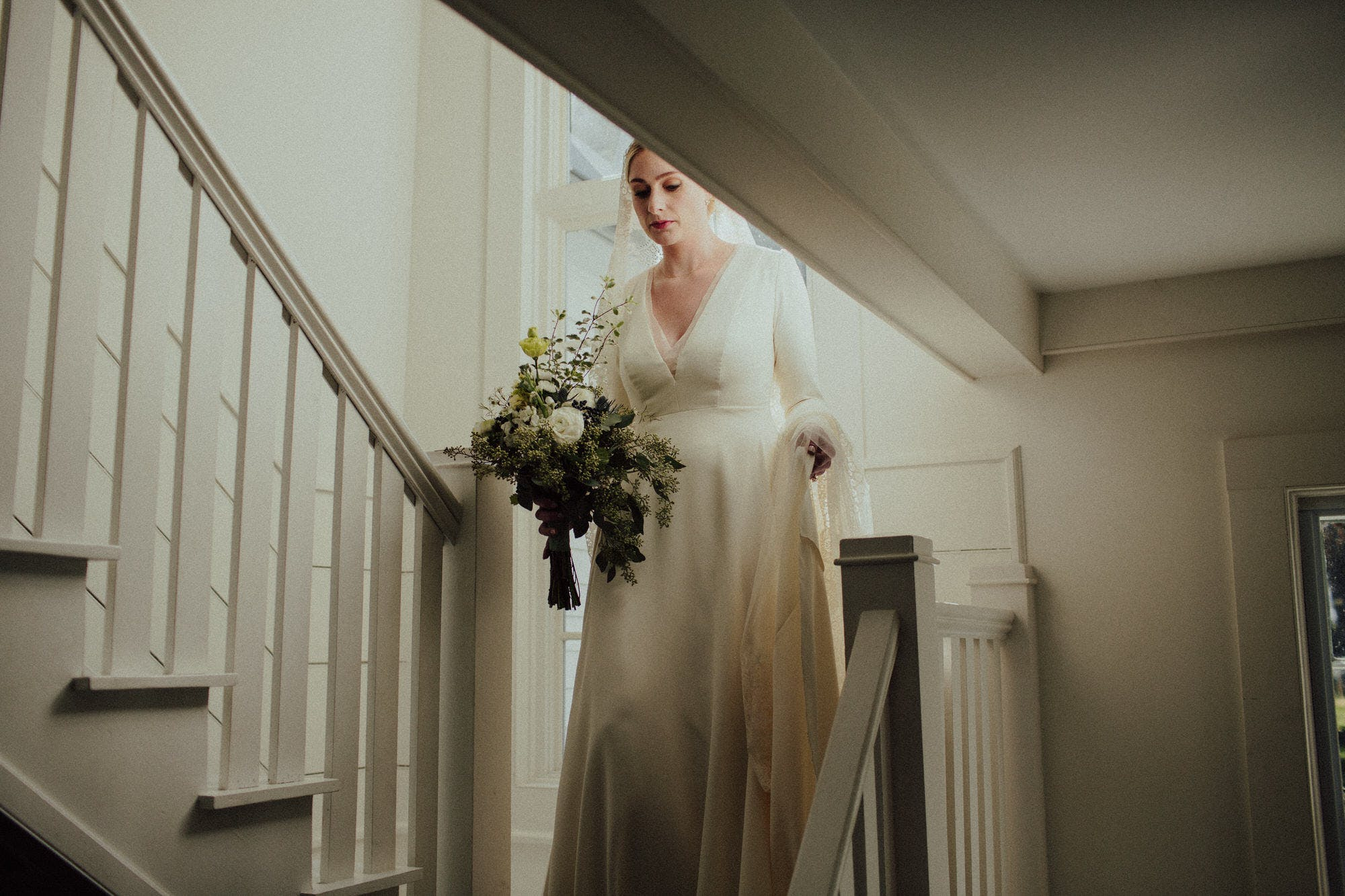 natural light wedding photos