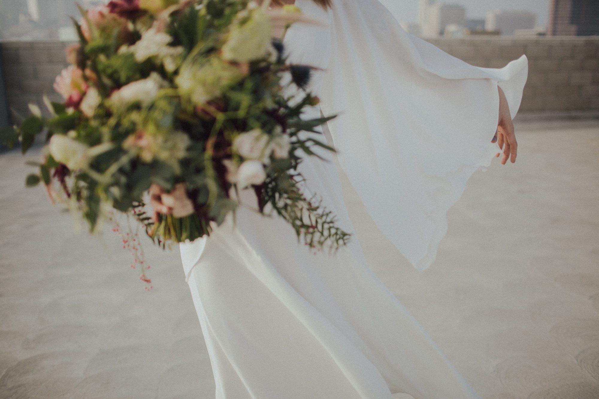 Dan Jones wedding gown