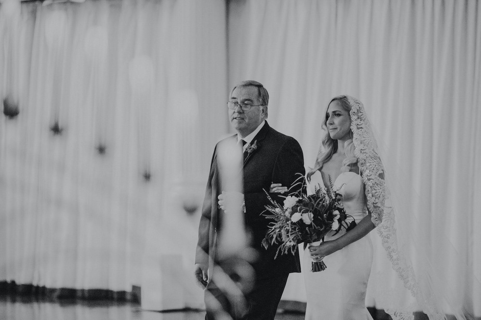 classic long wedding veil