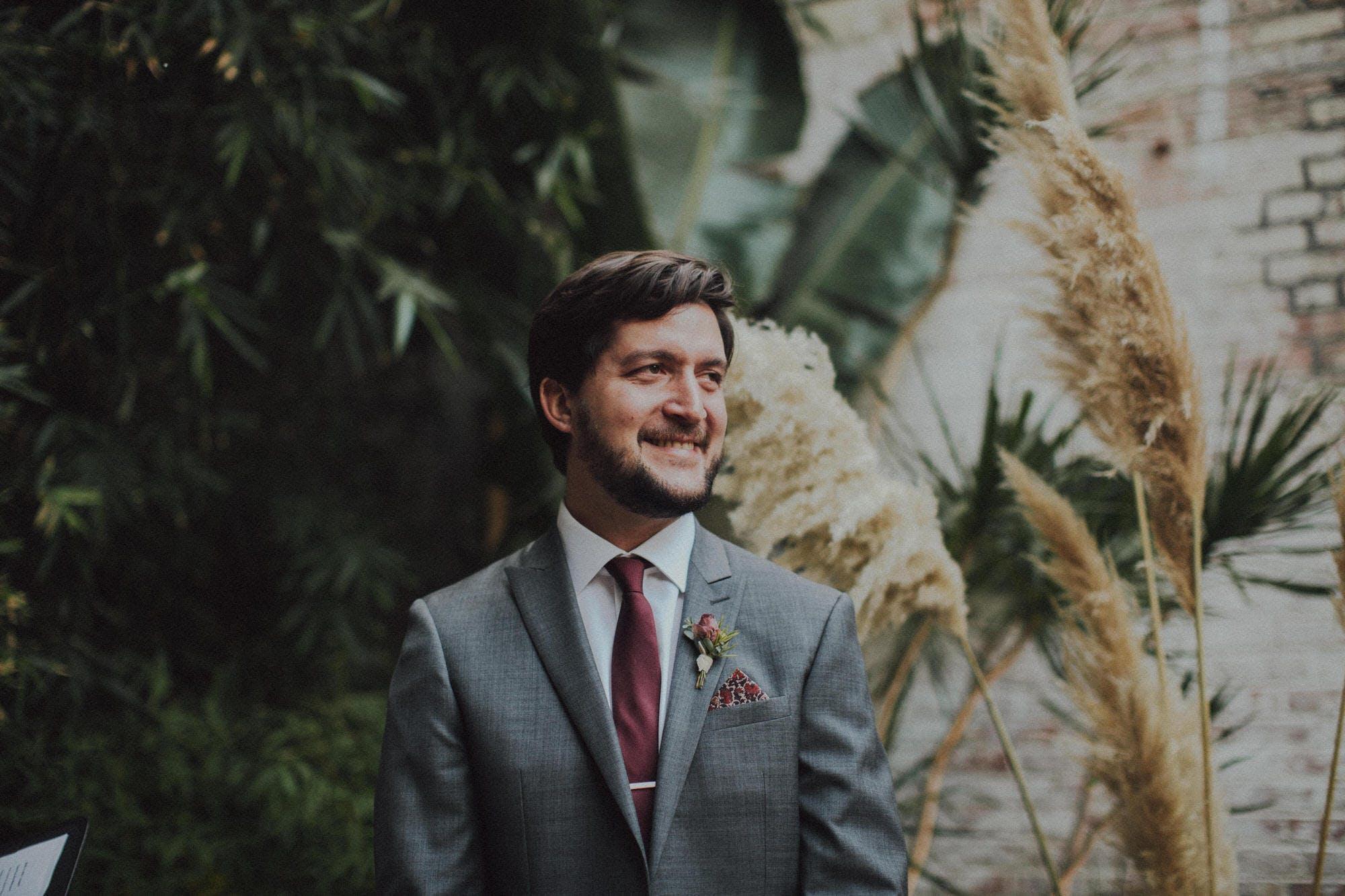 Pampus grass wedding