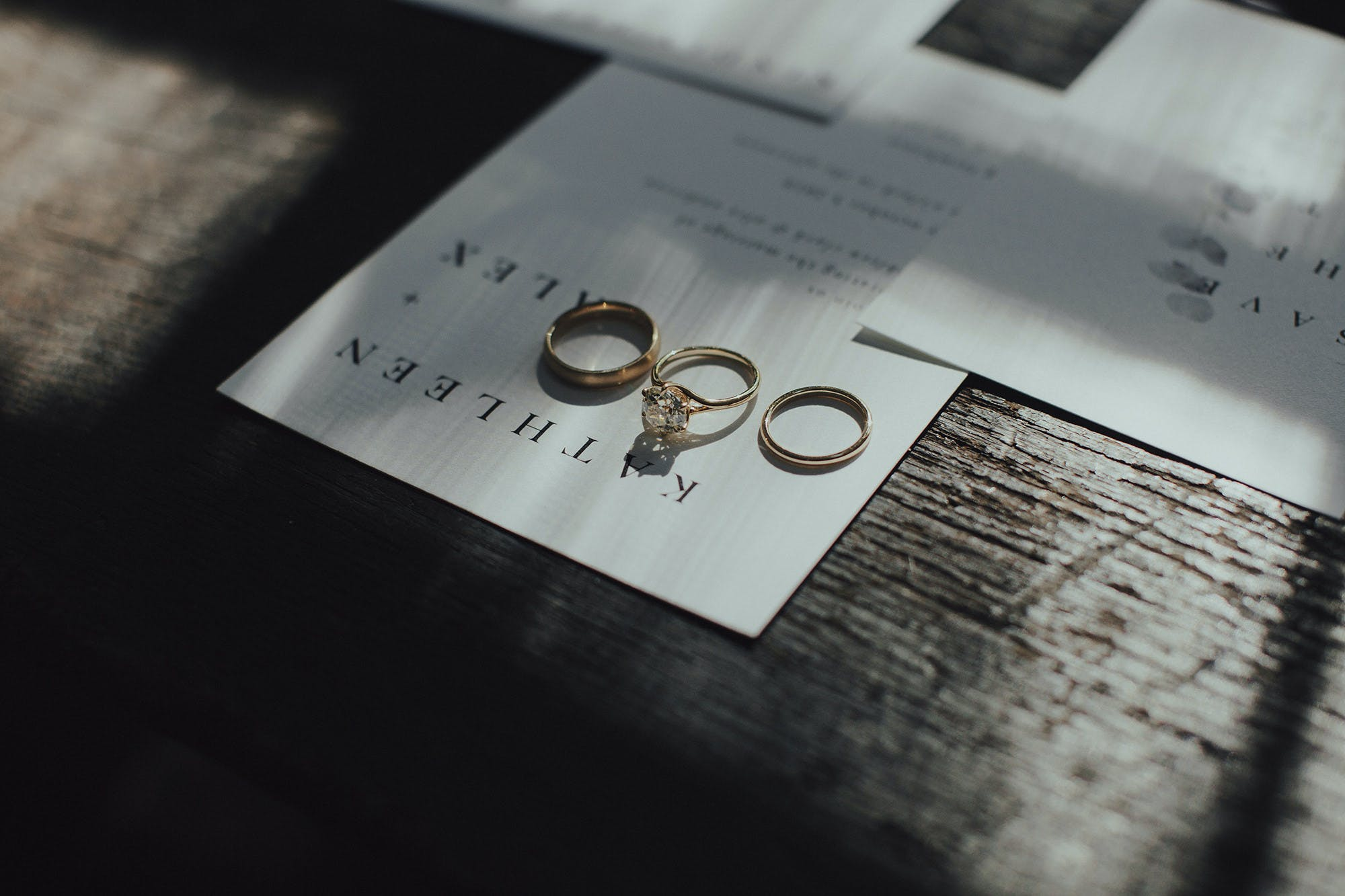 editorial inspired shots of rings