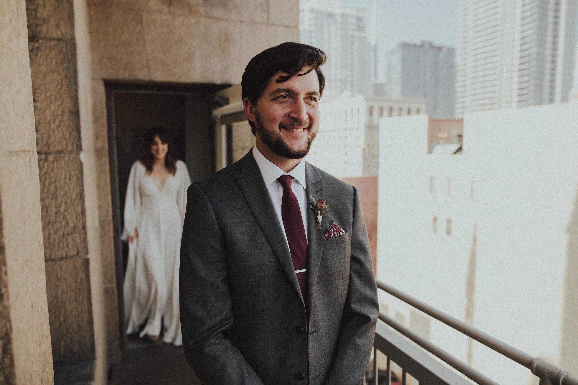 downtown LA city wedding