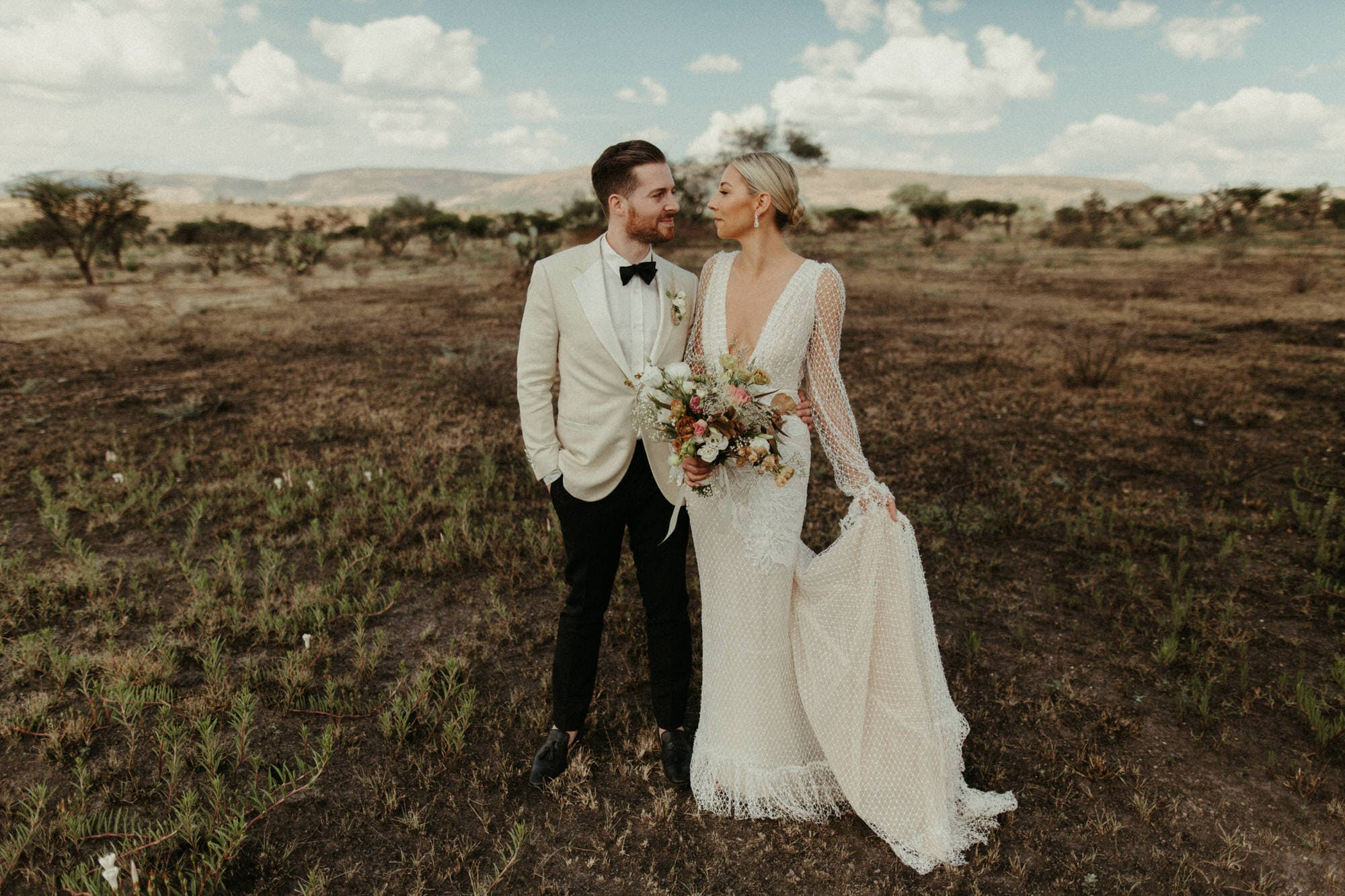 epic wide open spaces in mexico for couples pictures