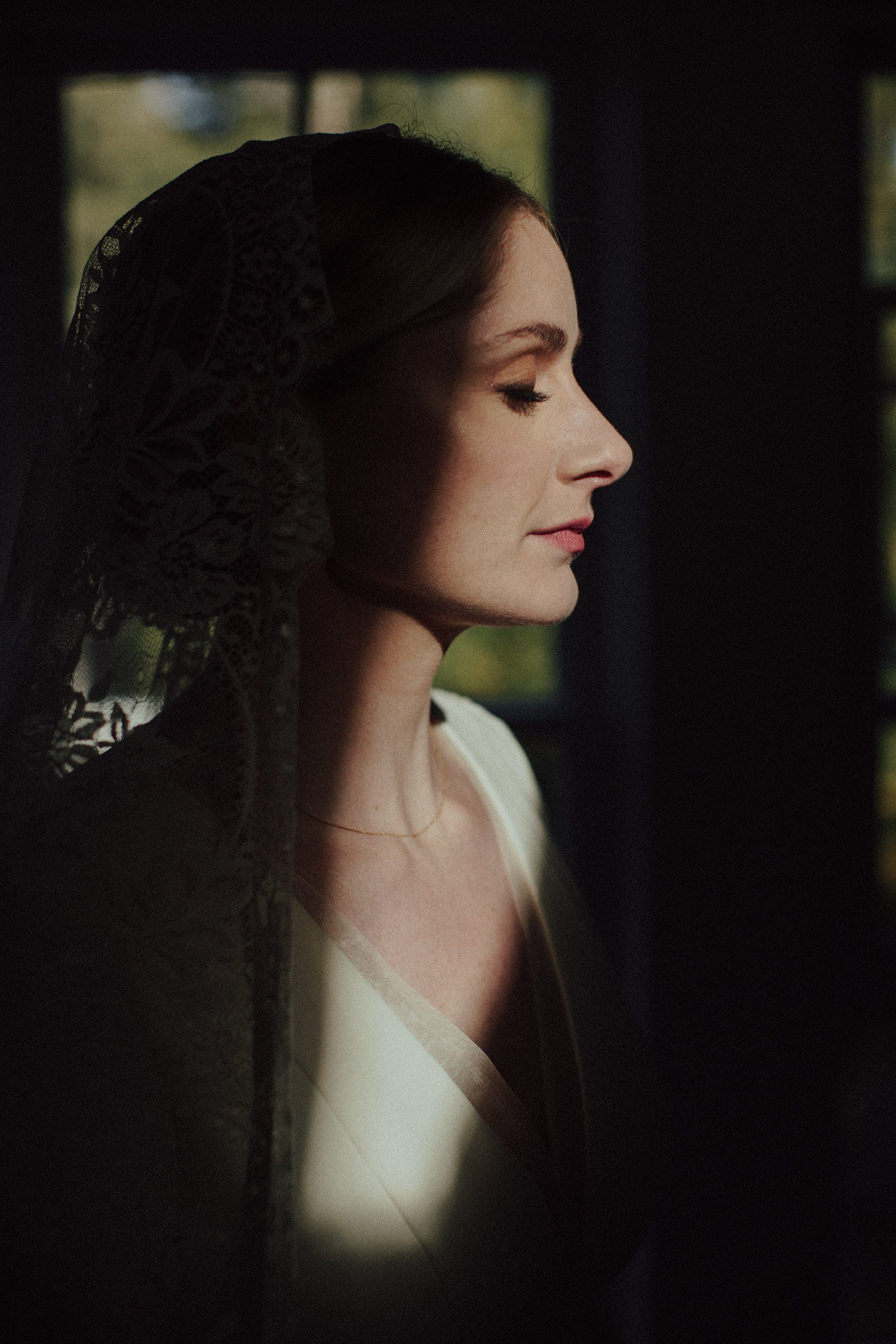 moody dark wedding photographer