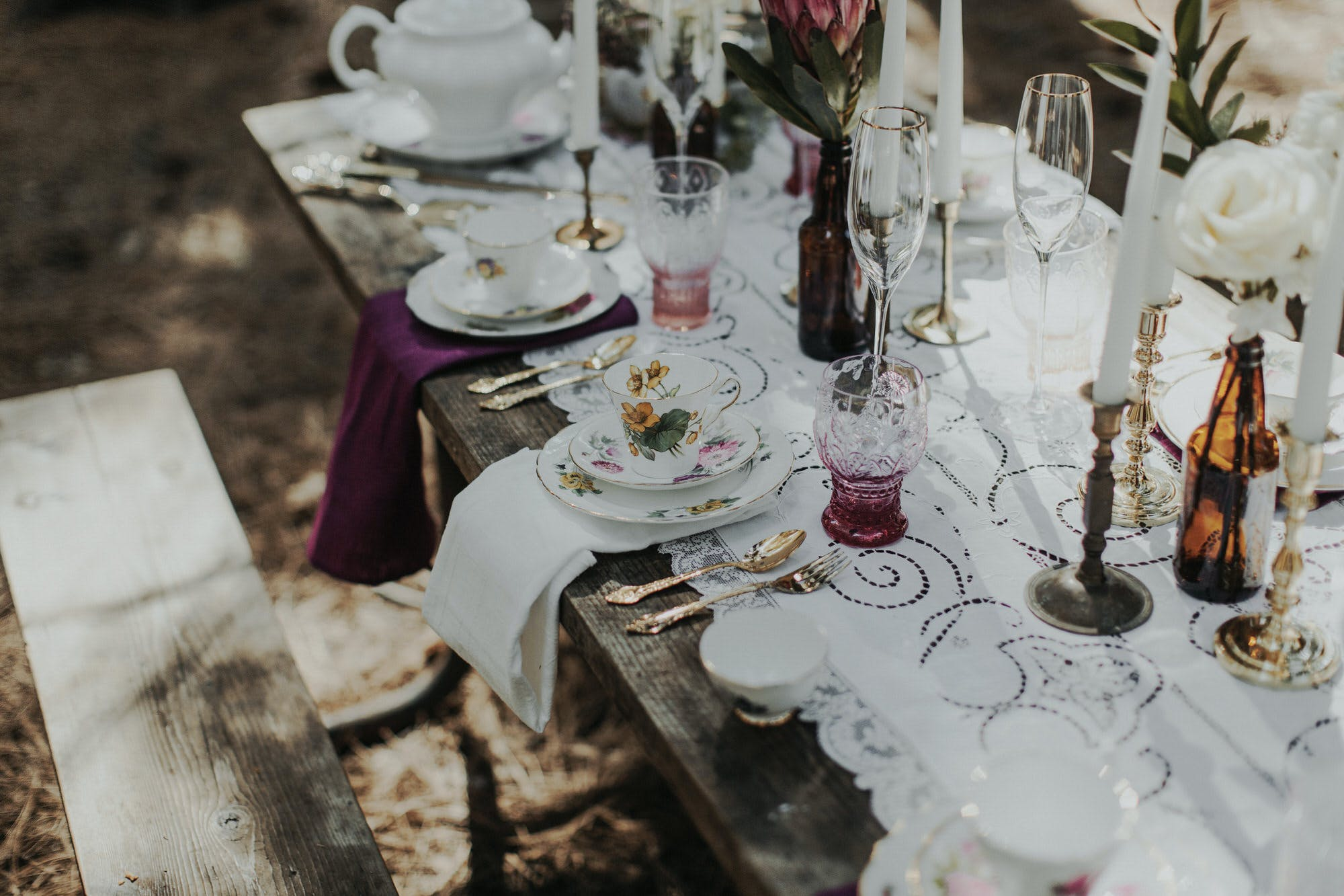 dinner party elopement