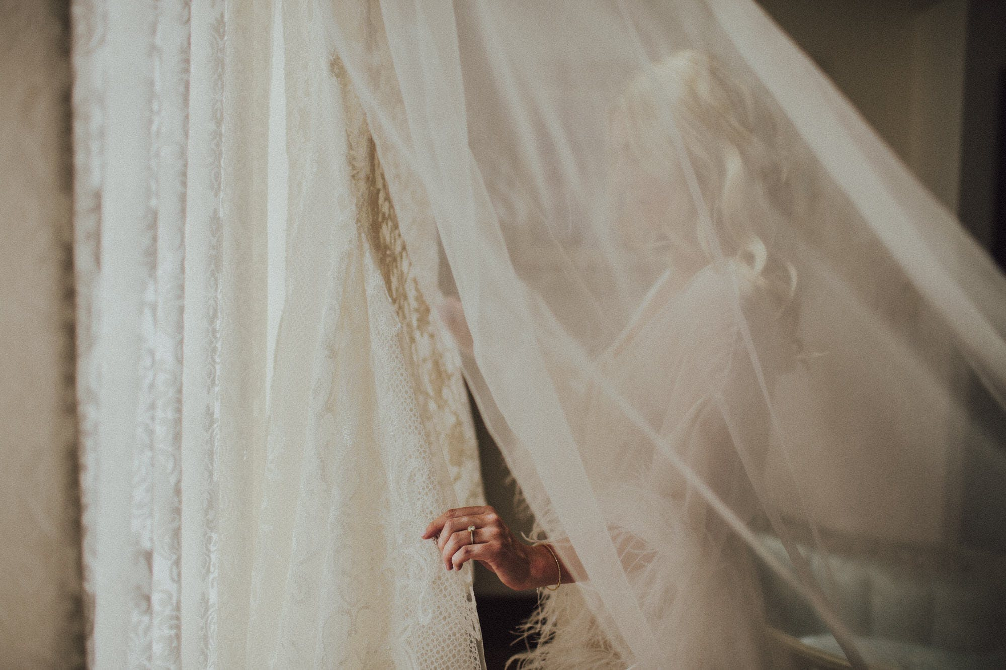 Ethereal bridal images