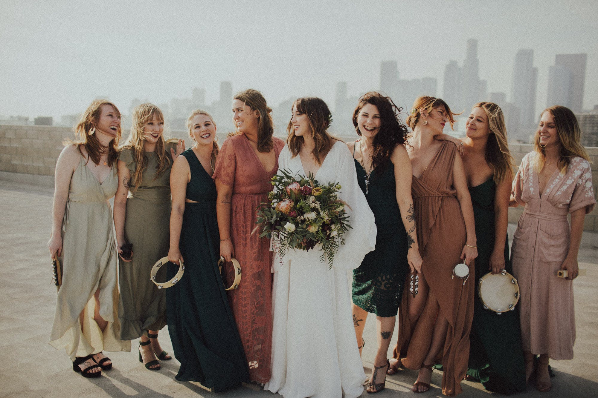Candid Bridal Party