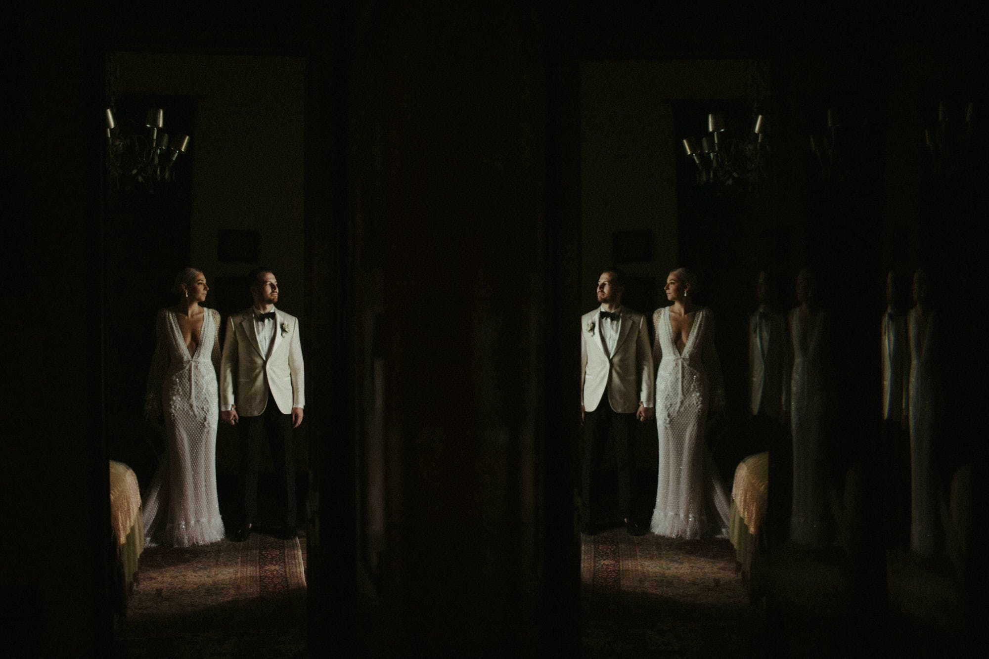 creative moody wedding pictures