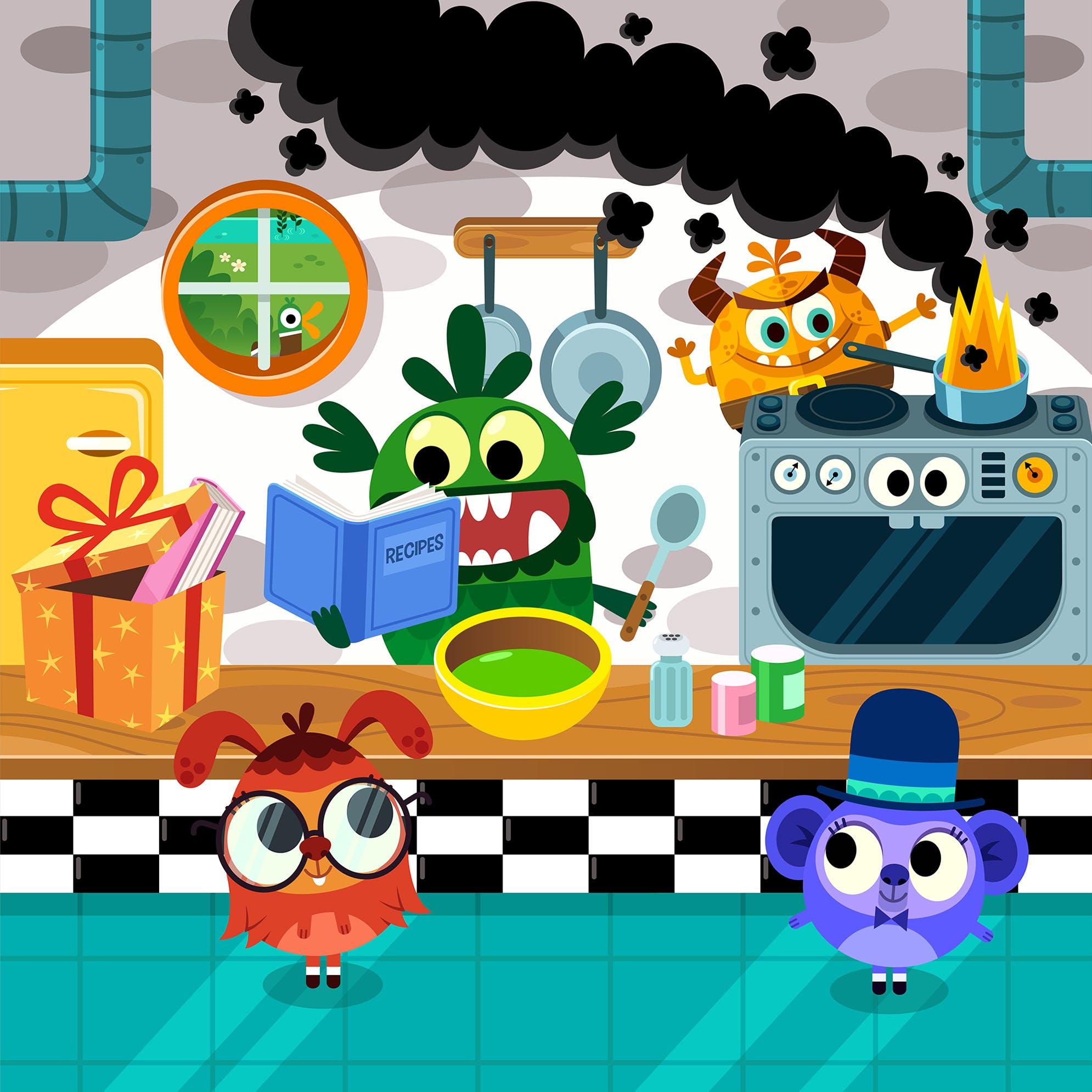Reading for Fun - Bakery chaos!