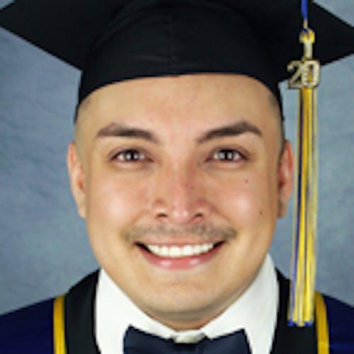 Portrait of student: Gregory  Santiago