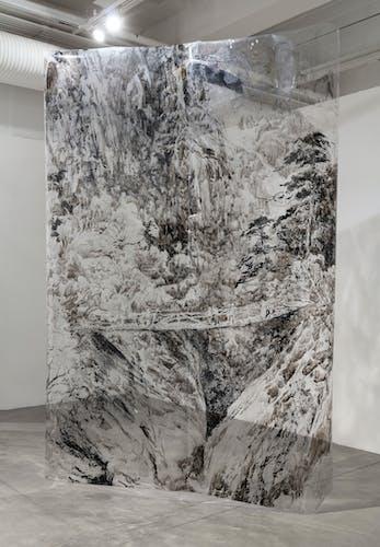 Mt. Kumgang (2020), installation