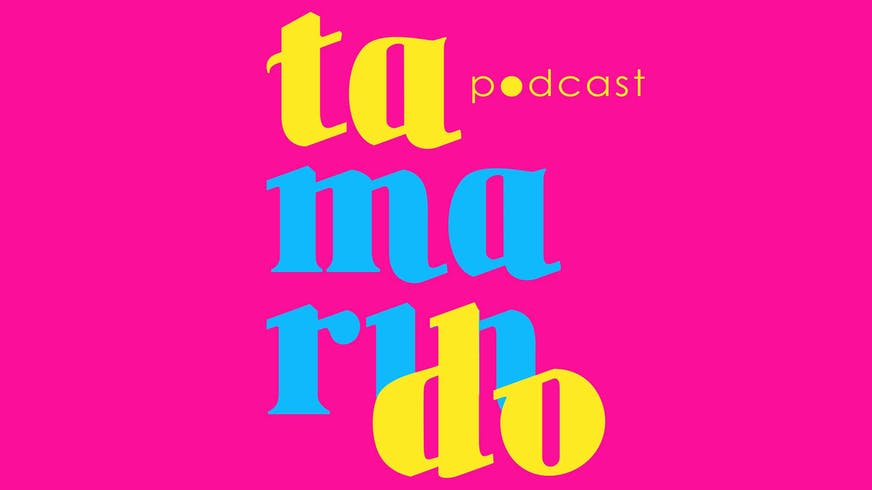 Logo for the Tamarindo podcast.