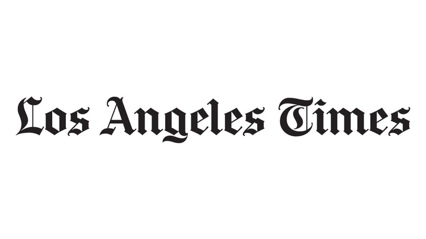 Los Angeles Time logo.