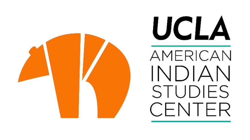 "Text based image that says ""UCLA American Indian Studies Center""."