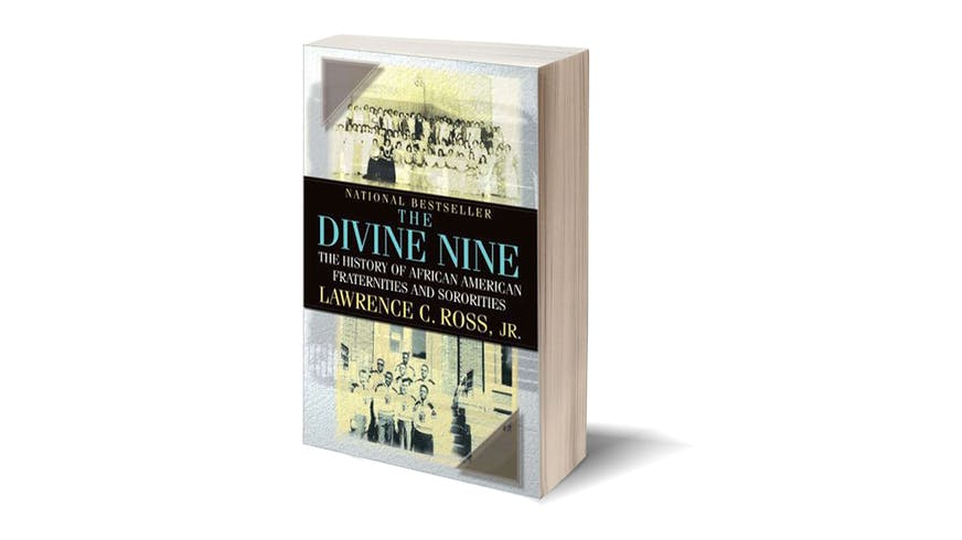 "Cover of the book ""The Divine Nine"" by Lawrence C. Ross."