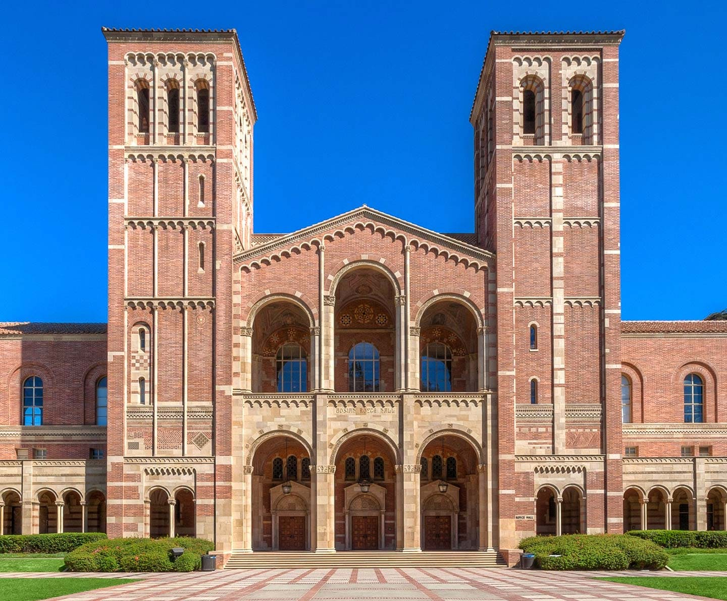A picture of Royce Hall at UCLA