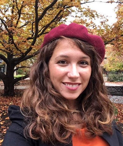Tasha Huff, postdoctoral fellow in the department of education