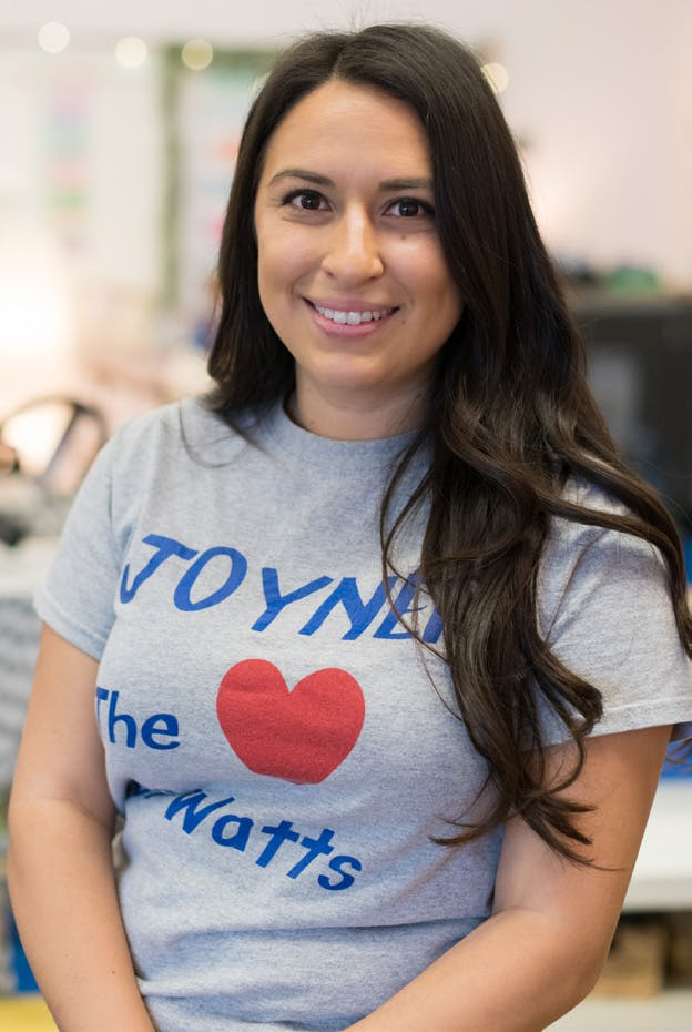 Maria Ortega, Florence Griffith Joyner Elementary School