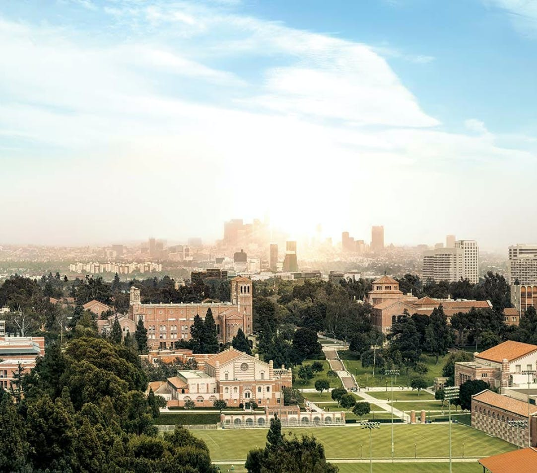 ucla campus from above