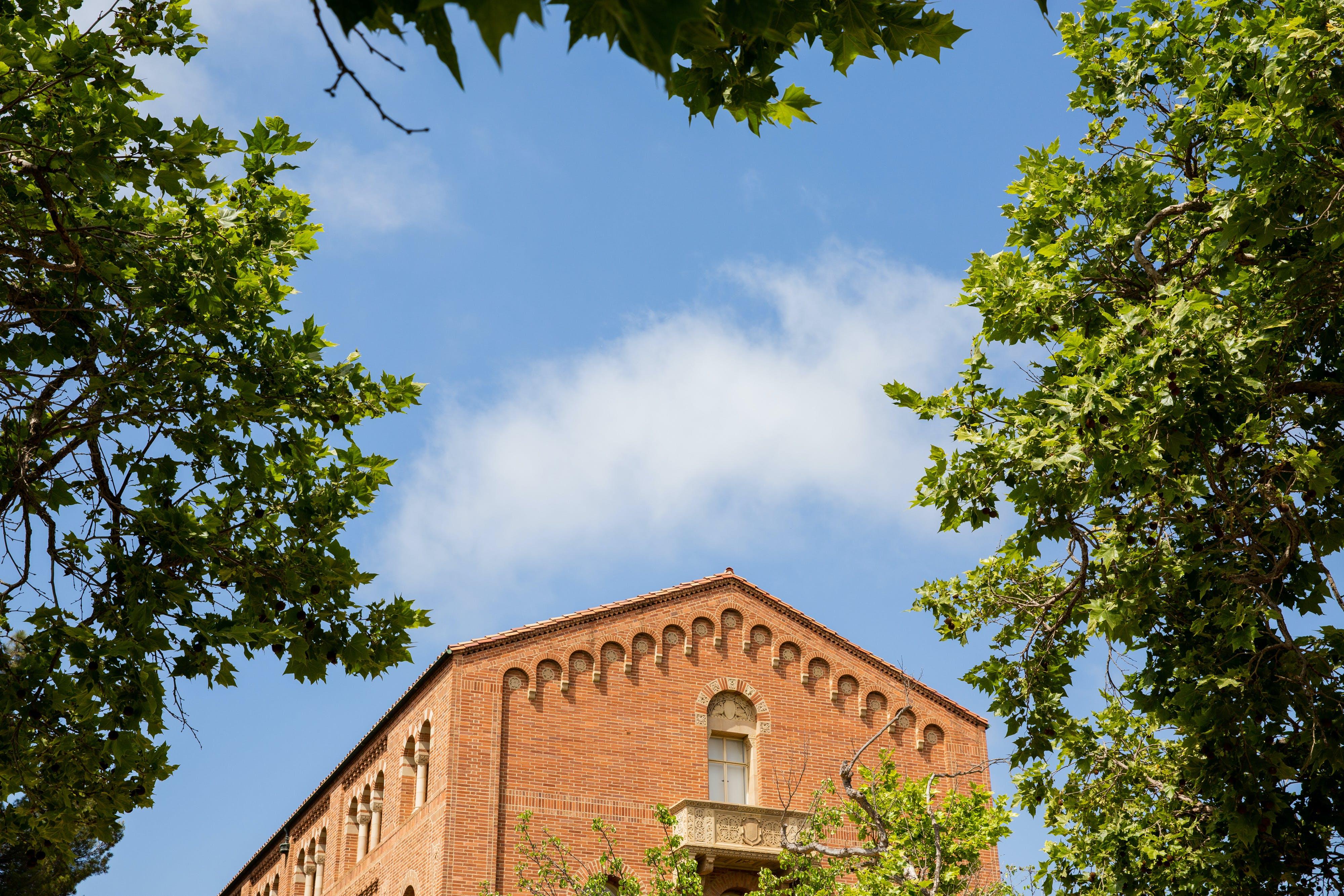 Moore Hall on UCLA Campus