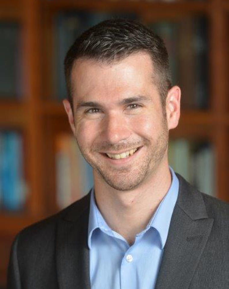 Kevin Eagan, director of UCLA's Cooperative Institutional Research Program (CIRP), is the co-author of HERI's Faculyt survey. Phoot by Todd Cheny, UCLA