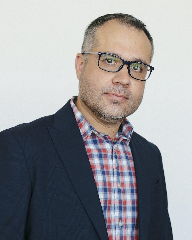 Assistant professor Robert Montoya