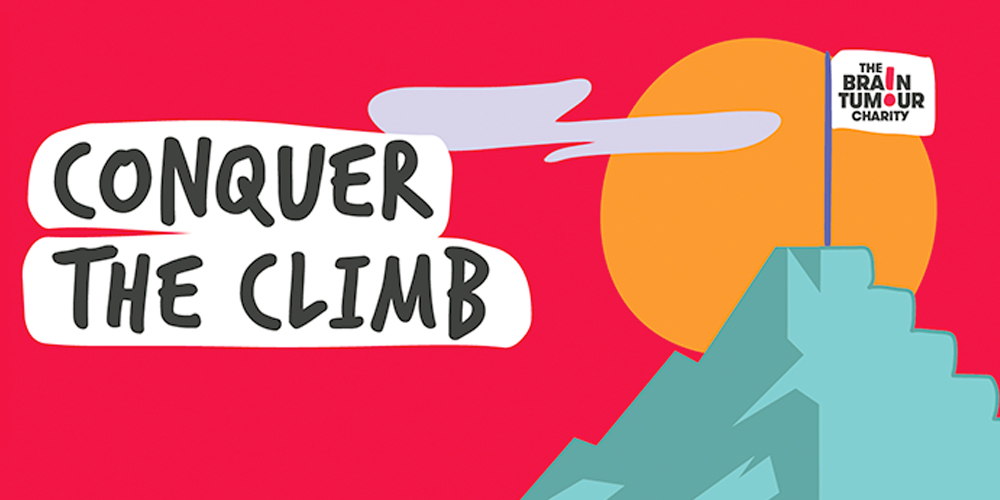 The Brain Tumour Charity - Conquer the Climb Challenge