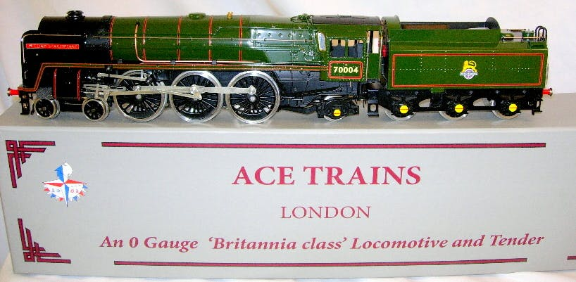 ACE TRAINS 0 gauge 2/3 rail electric Britannia