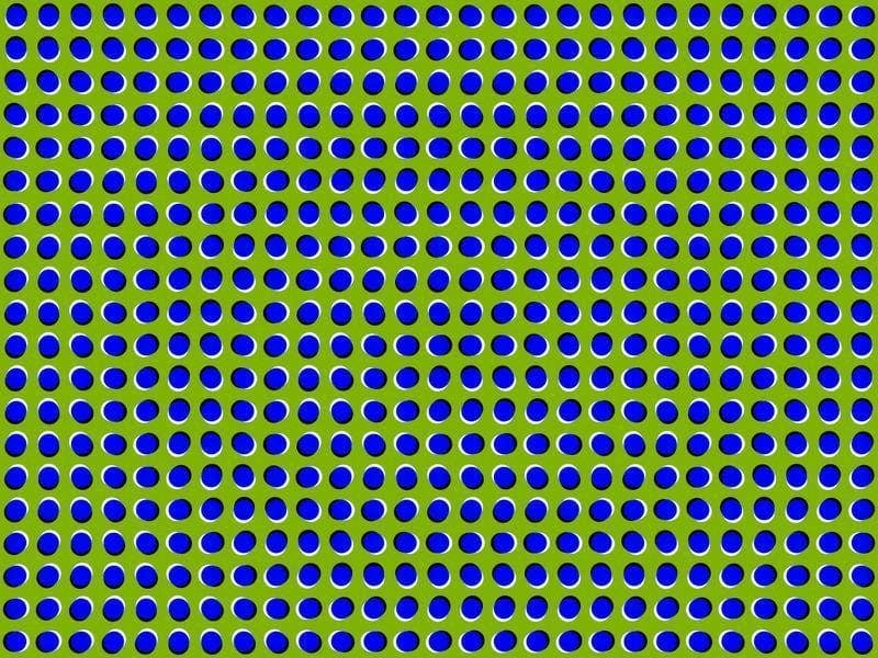 A peripheral illusion by Paul Nasca