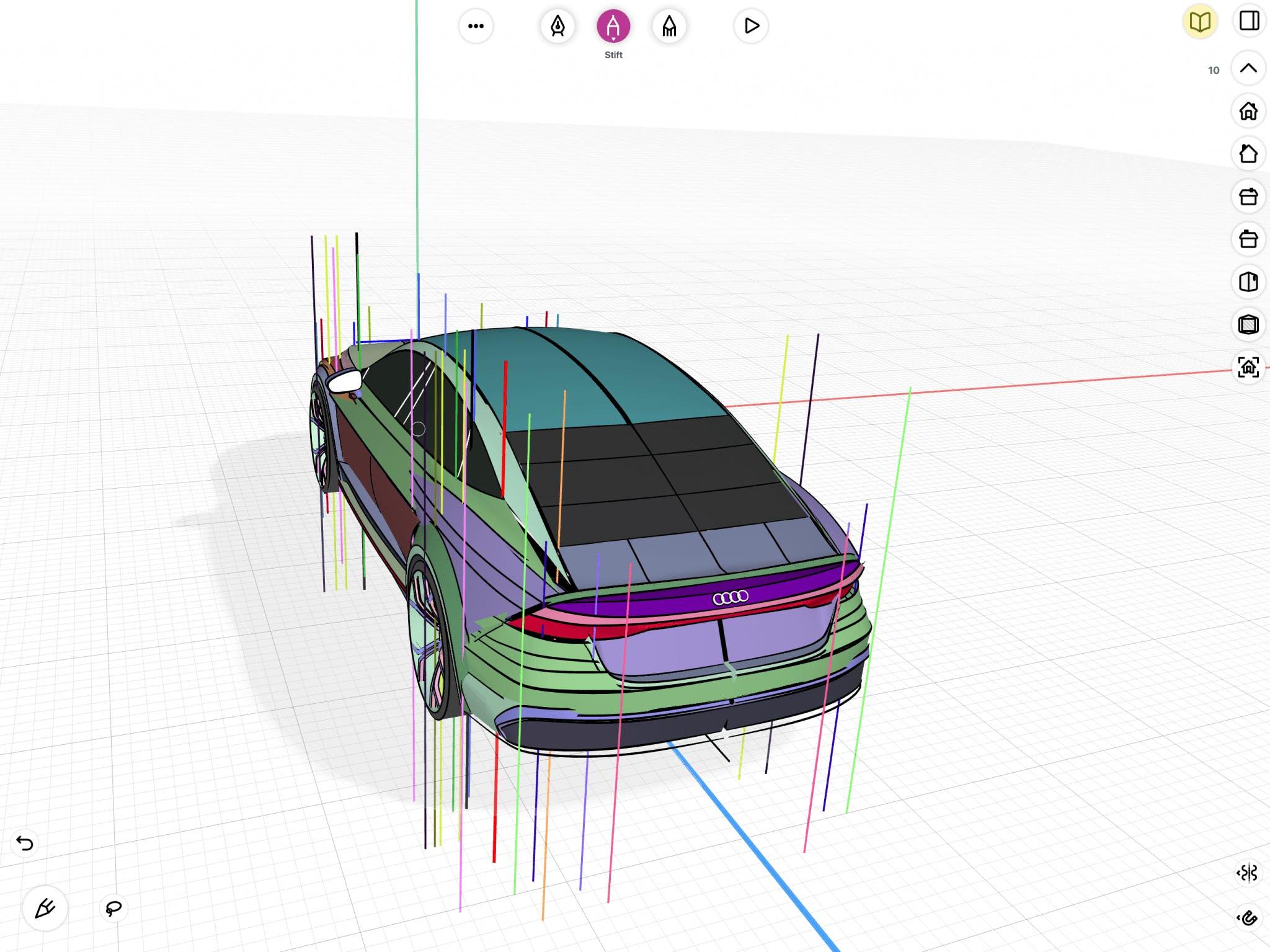 Aleksander Dietrich - Peak points visualization in uMake