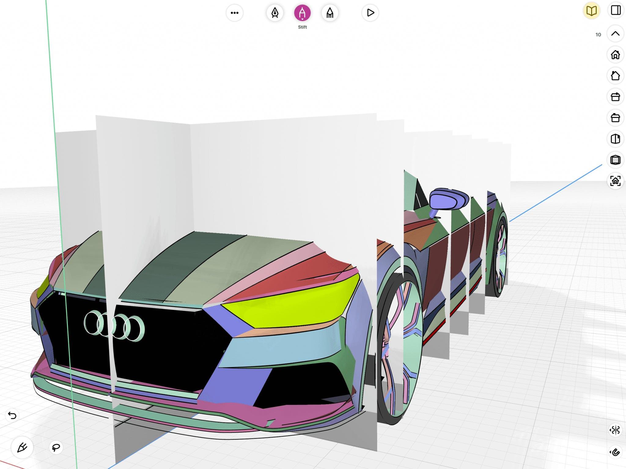 Aleksander Dietrich - Automative surfaces based modeling