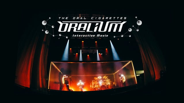 THE ORAL CIGARETTESのライブドキュメンタリー「THE ORAL CIGARETTES Interactive Movie『ORALIUM』」をU-NEXTで配信決定