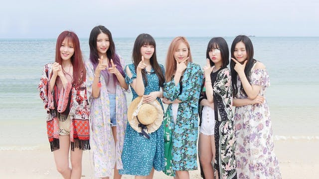 「GFRIEND」の沖縄旅行に密着!U-NEXTオリジナルのバラエティ番組が8月14日より配信開始。