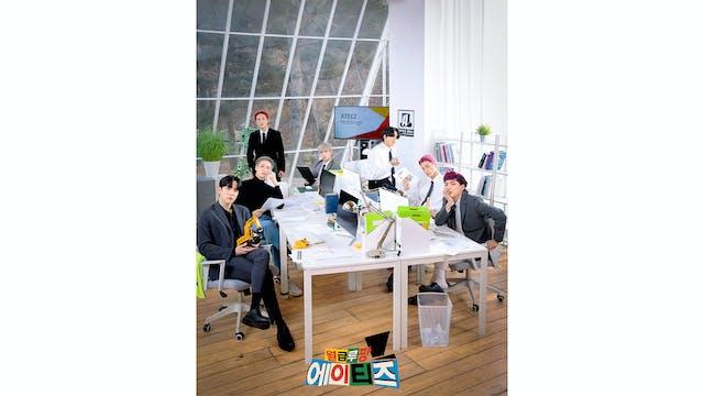 ATEEZのオフィスバラエティ『月給ルパン ATEEZ』をU-NEXT独占で配信開始