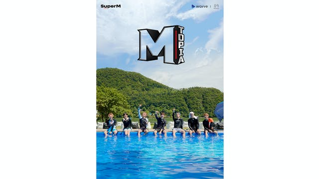 SuperM初の単独リアリティ番組『SuperMのMトピア』をU-NEXT独占で配信スタート!