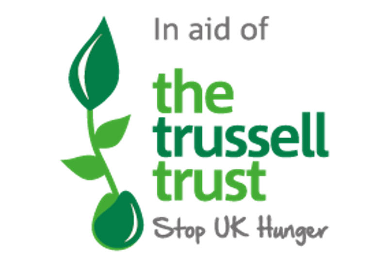 In aid of The Trussell Trust