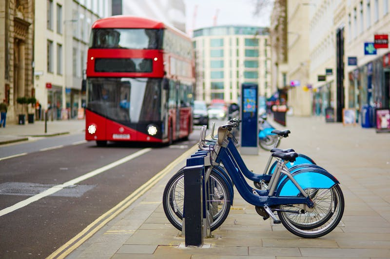 Bus and bikes